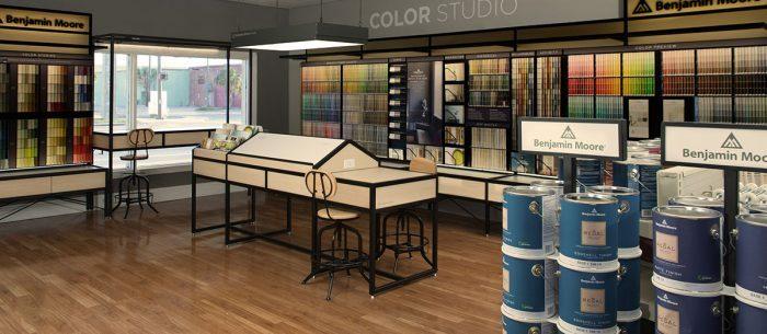 benjamin moore paint store donco designs