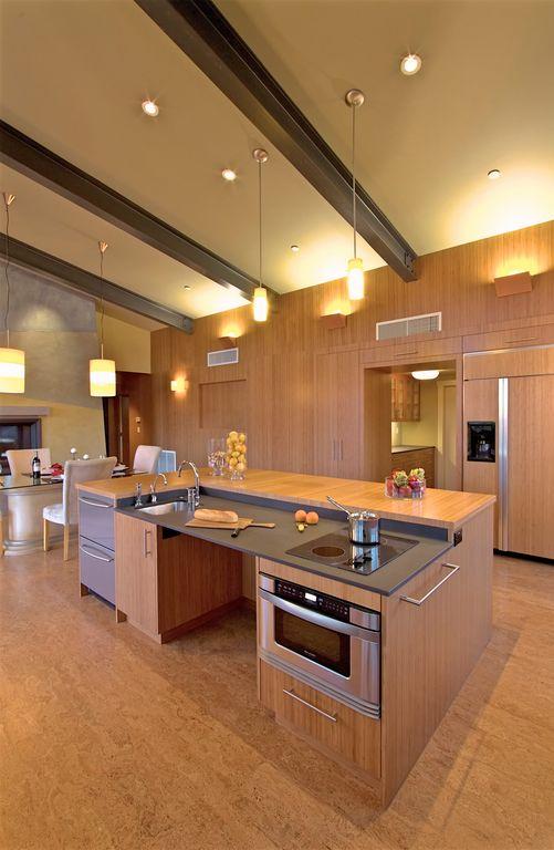 universal design kitchen - roll under counter