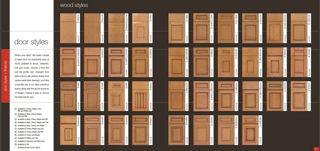 kitchencraft door styles