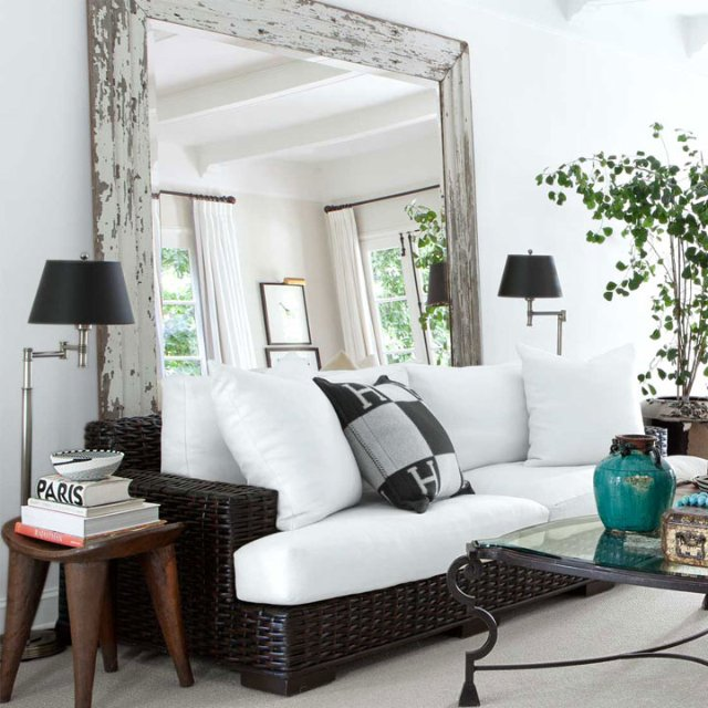 MAKE SMALL ROOM BIGGER WITH-Mirrors