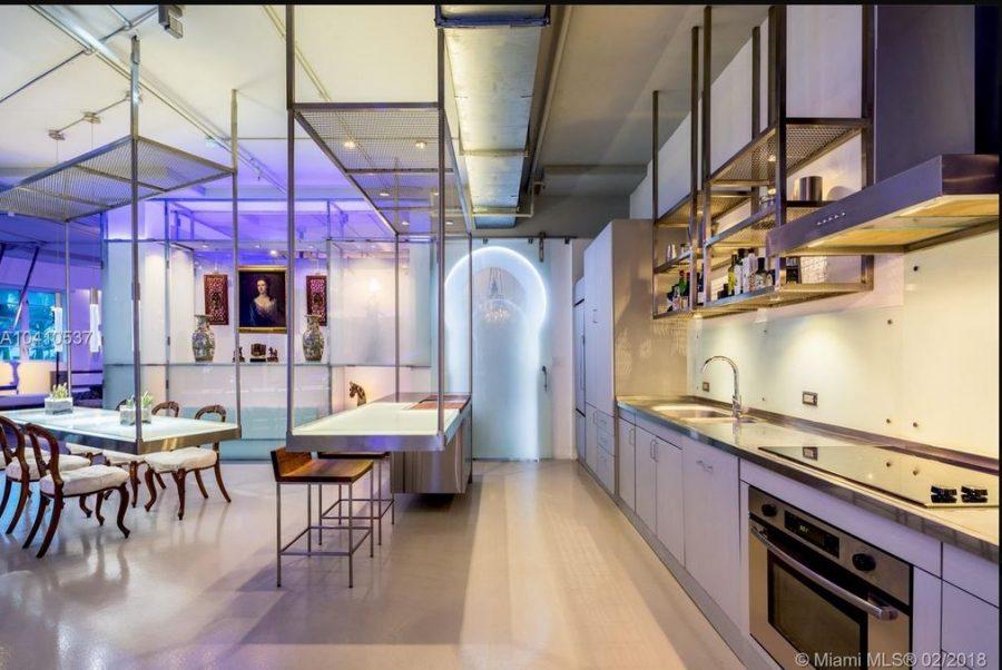 kitchen - Lenox Loft condo